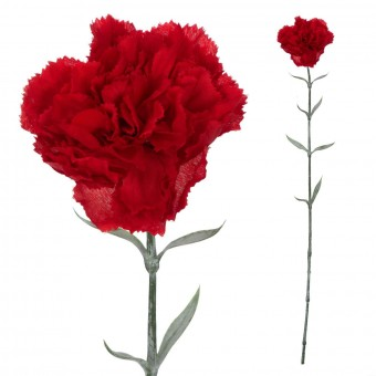 Clavel artificial rojo 67 · Flores artificiales · La Llimona home