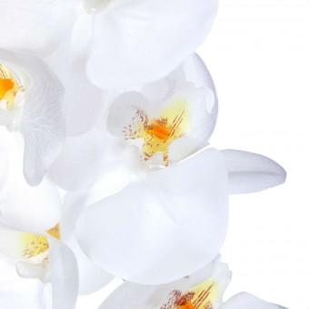 Orquídea artificial blanca 80 · Orquídeas artificiales · Flor artificial · La Llimona
