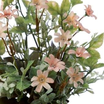 Ramo mini flores artificiales silvestres coral 38 · Ramos flores artificiales · La Llimona home