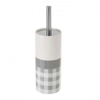 Escobillero baño cerámica vichy · Accesorios baño · La Llimona home