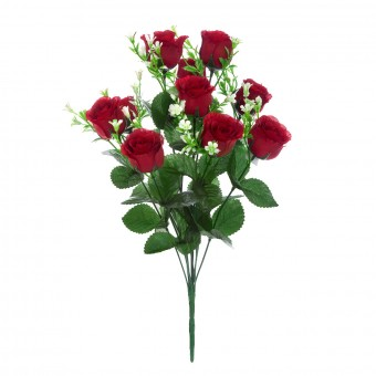 Ramo rosas artificiales rojas 44 · Ramos flores artificiales · La Llimona home