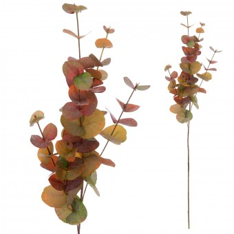 Eucalipto artificial 85 otoño · Planta artificiales · Hojas y ramas artificiales