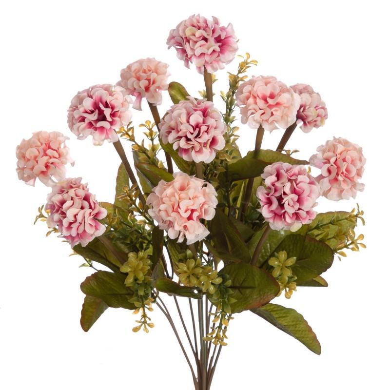 Ramo mini mums artificiales rosa 40 · Ramos flores artificiales · La Llimona home