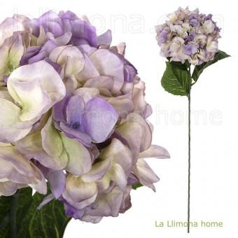 Flor hortensia artificial lavanda 78 · Flores artificiales 2 · La Llimona home