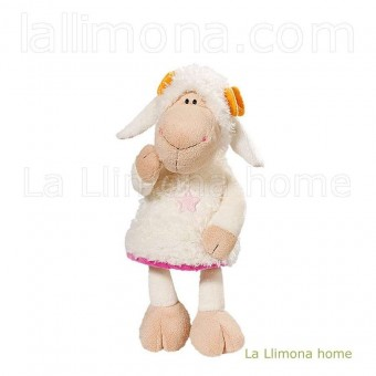 Nici oveja Jolly Amy peluche 35 · Nici peluches y complementos · La Llimona home
