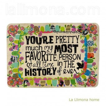 Natural Life tarjeta postal magnética 'You're pretty' · Natural Life · La Llimona home