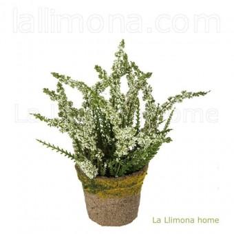 Planta astilbe artificial blanca 16 · Plantas artificiales con flores
