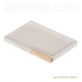 Jabonera baño wash beige · Jaboneras de baño 2 · La Llimona home
