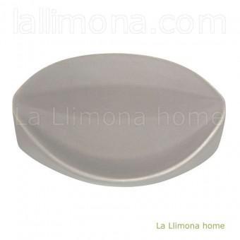 Jabonera baño pirámide gris · Jaboneras de baño 2