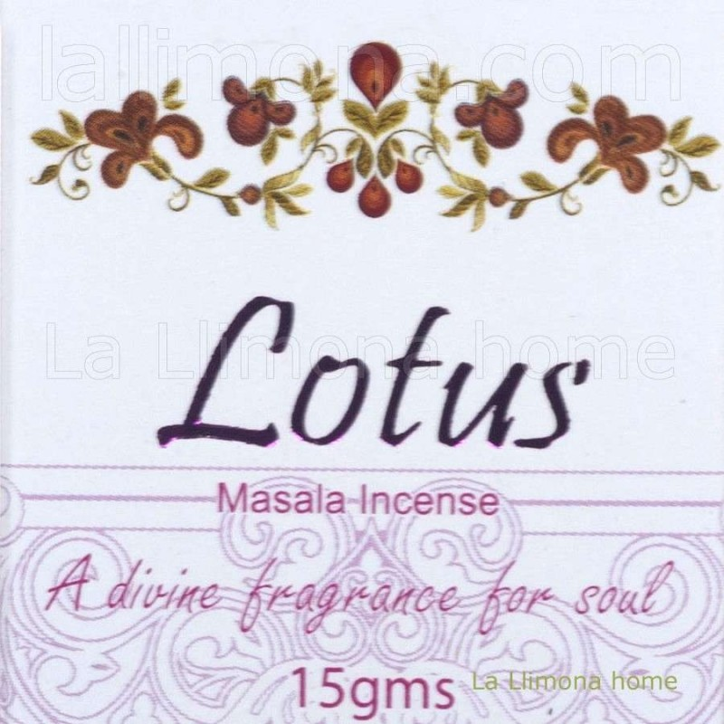 Incienso goloka lotus caja sticks · Inciensos, ambientadores y soportes
