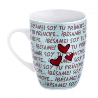 Taza Nici 'Soy tu principe besame' · Nici tazas con mensaje · La Llimona home