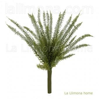 Planta erica artificial blanca 30 · Plantas artificiales con flores 3