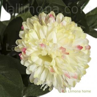 Ramo pom pom artificial amarillas 46 · Ramos flores artificiales · La Llimona home