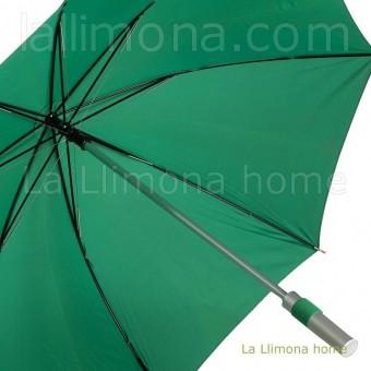 Paraguas hombre mango aluminio manual verde · Paraguas hombre 4