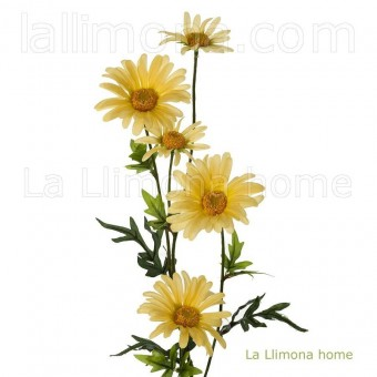 Rama margaritas artificial amarillas 78 · Flores artificiales · La Llimona home