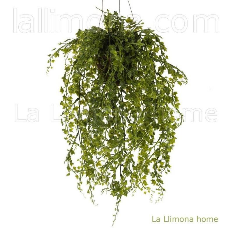 Planta artificial colgante mini hiedra 44 · Plantas colgantes artificiales · La Llimona home