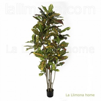 Planta croton artificial bicolor 150 · Plantas artificiales